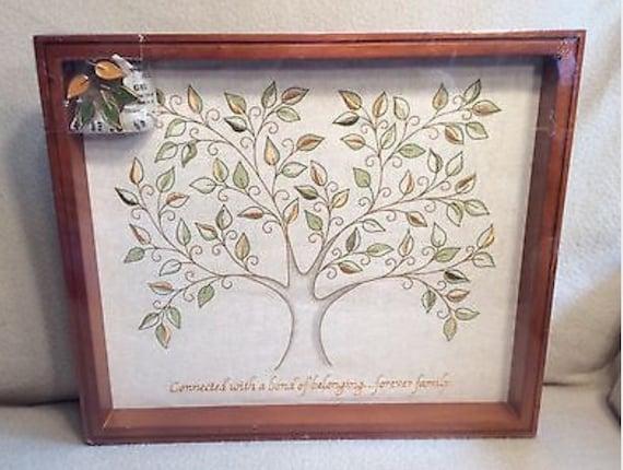 Hallmark Family Tree Shadow Box Picture Frame NEW Ornaments | Etsy