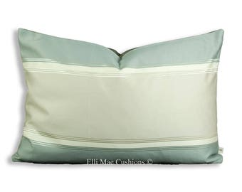 Putty Paint Stripe Throw Pillow