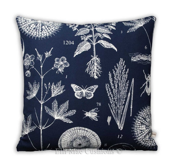 Groovy Ikea Blavinge Nature Blue White Fabric Sofa Cushion Pillow Cover Frankydiablos Diy Chair Ideas Frankydiabloscom