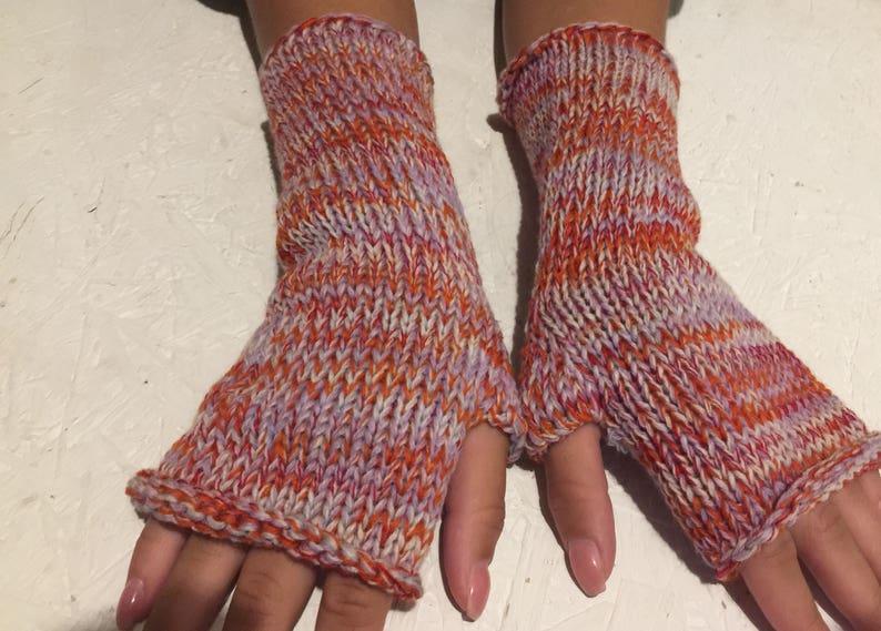 25e6a8891c9 Women knit fingerless gloves women mitt knit gloves arm