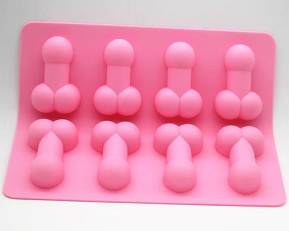 8 l cher penis form silikon kuchen form handgefertigt form etsy. Black Bedroom Furniture Sets. Home Design Ideas