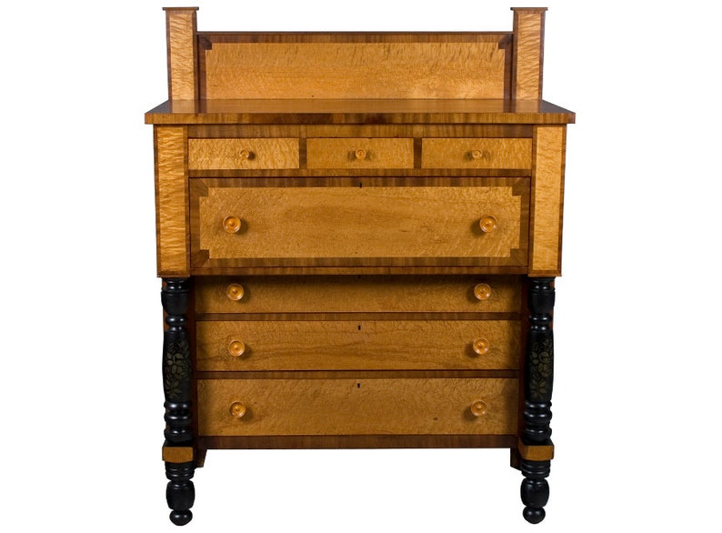 Antique Art Deco Style Large Scottish Chest of Drawers