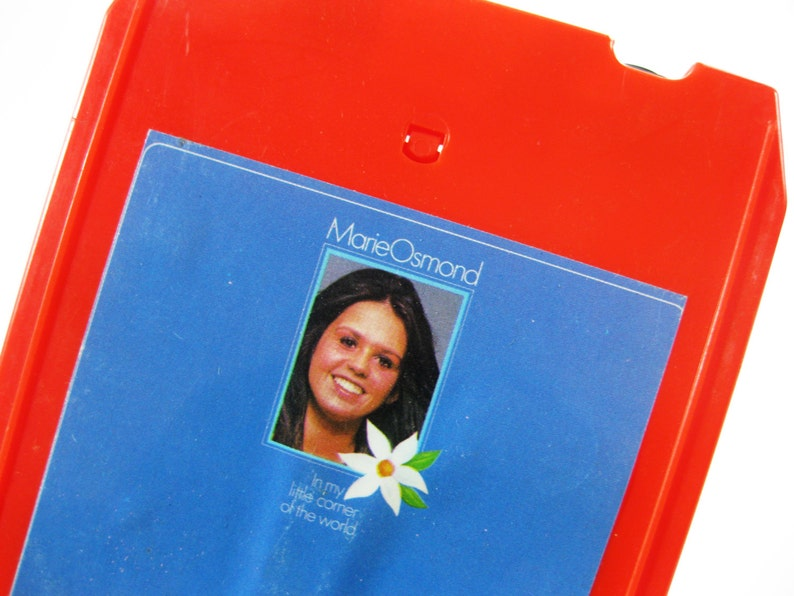 Vintage Marie Osmond 8-Track Tape  In My Little Corner of the image 0