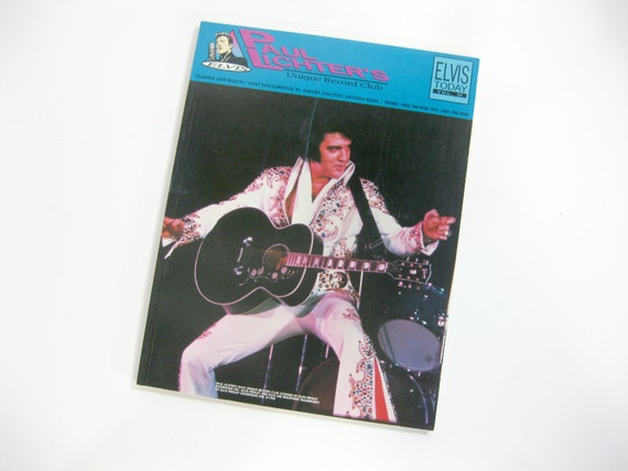 Vintage Elvis Presley Paul Lichters Unique Record Club Etsy