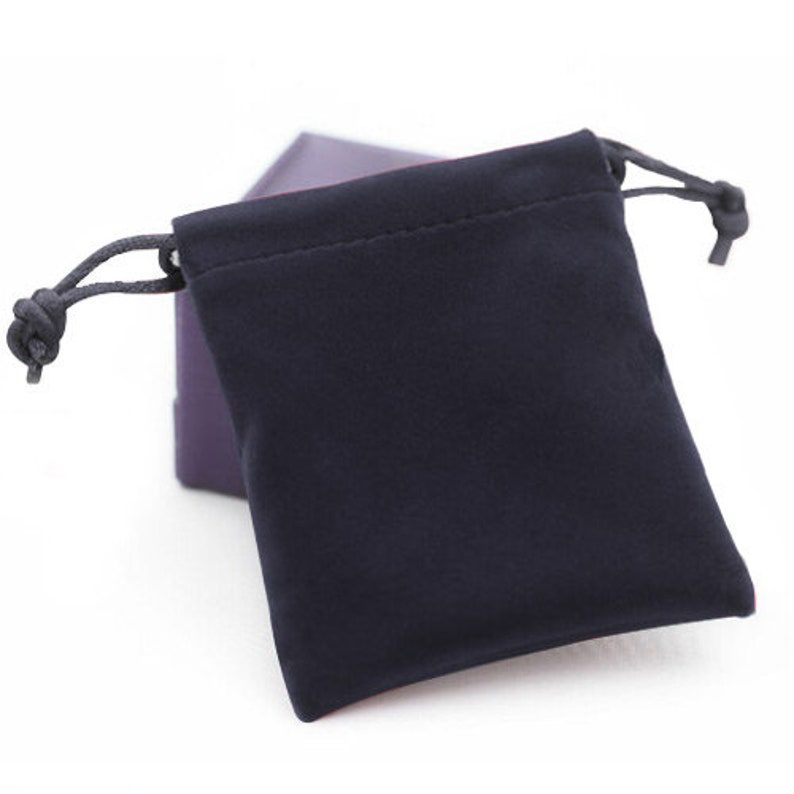 50 Velvet Bag Gift Pouch 2 34 X 3 12 Free Ship from Canada