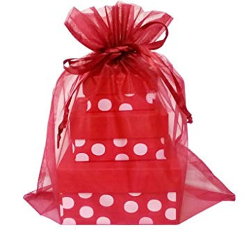 50 Pcs Organza Bags 3 X 4 Free Shipping From Canada
