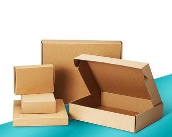All Sizes Corrugated Shipping Box E-Commerce Mailer Kraft Post Case Wholesale Free Ship from Toronto (10PCS/LOT)