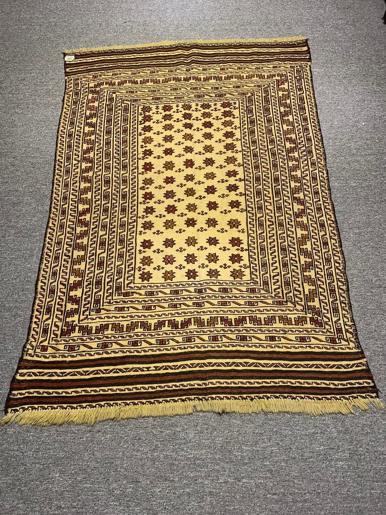 Afghan kilim # 96