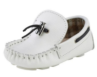 baby boy boat shoes size 4