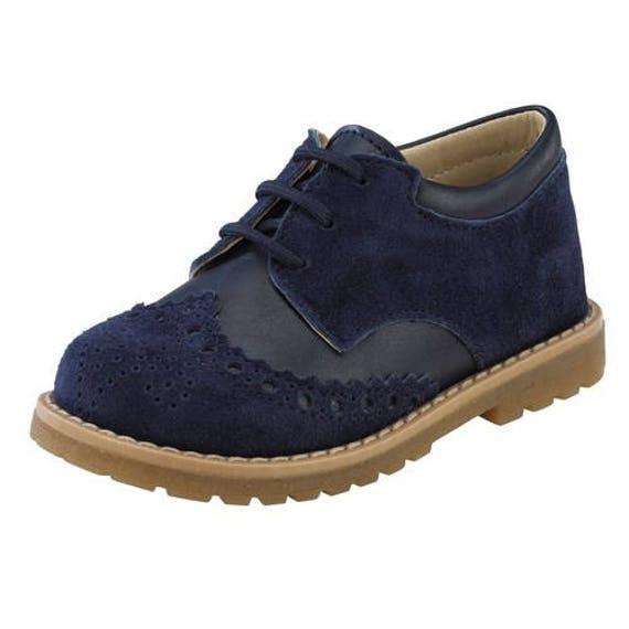 abgeholt weit verbreitet Schuhwerk Oxford Baby Junge Schuhe blau braune ecru graue schwarze Leder  Wingspenspenden Schuhe Baby Wedel Schuhe Taufe Luxusgröße 4 5 6 7 8 9 US EU