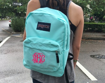 a2fb1de9ae2b Jansport Backpack with Custom Embroidered Monogram