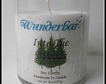 Into The Woods Premium Candle
