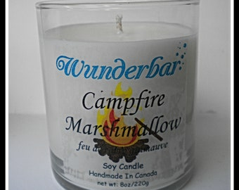 Campfire Marshmallow Candle