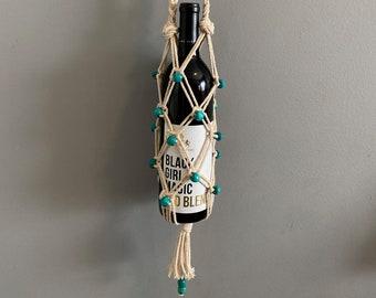 Luna - Macrame Bottle Holder