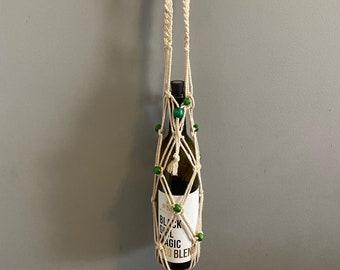 Zaim - Handmade Macrame Bottle Holders
