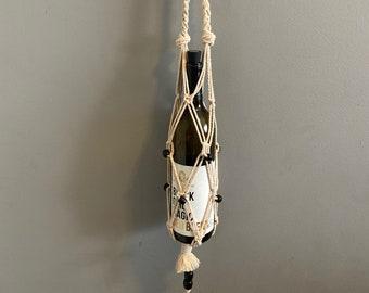 Abena - Handmade Macrame Bottle Holders
