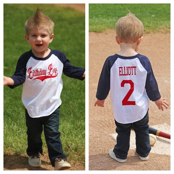 Baseball Birthday Boy Shirt Boys