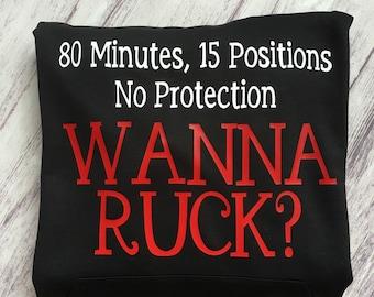 Rugby t-shirt wanna ruck?