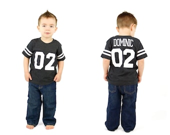 2nd Birthday Football Birthday shirt, football party, sports birthday shirt, toddler football jersey, sports party, boys birthday party