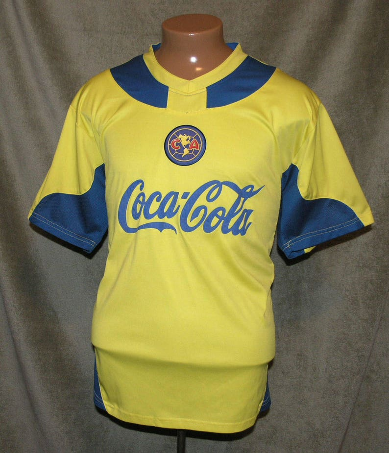 reputable site 1f6f6 761e6 Club America Soccer, Soccer Jersey, Size XL, Unisex, Vintage Soccer,  Vintage Jersey, Coca Cola, Corona Beer, Good Condition