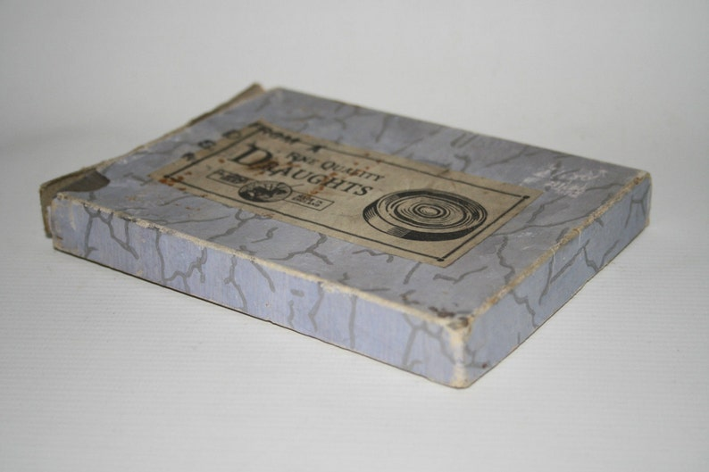 Collectable Vintage St George Fine Quality Draughts Game Boxed Made in England