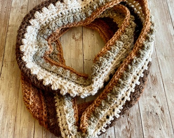 Infinity Scarf, Fall Scarf, Handmade Scarf, Womens Scarves, Gift for Mom, Gift for Wife, Winter Scarf, Holiday Scarf, Gift Scarf, Ladies