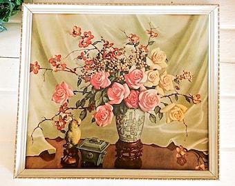 Vintage Home Décor, Retro Wall Art, 50s Wall Décor, Kitsch Décor, Reliance Wall Décor, Housewarming Gift, Retro, Home Decor, Wall Painting