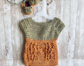 Crochet Romper, Crochet Onesie, Boho Onesie, Baby Outfit, Neutral Baby, Baby Sandals, Baby Slippers, Rainbow baby, Organic Baby, Handmade