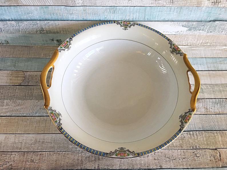 Antique Noritake Cortez Serving Bowl Vegetable Bowl image 0