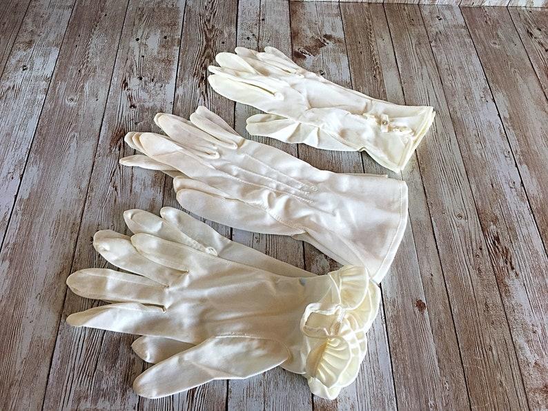 Vintage Womens Gloves Vintage Gloves Formal Gloves Vintage image 0