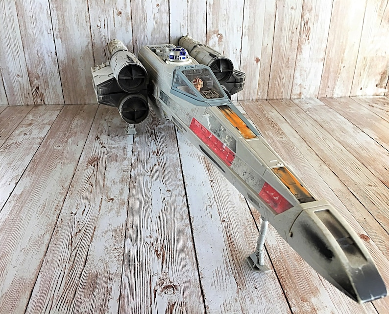 Vintage Star Wars Star Wars X Wing Fighter Jet Star Wars image 0