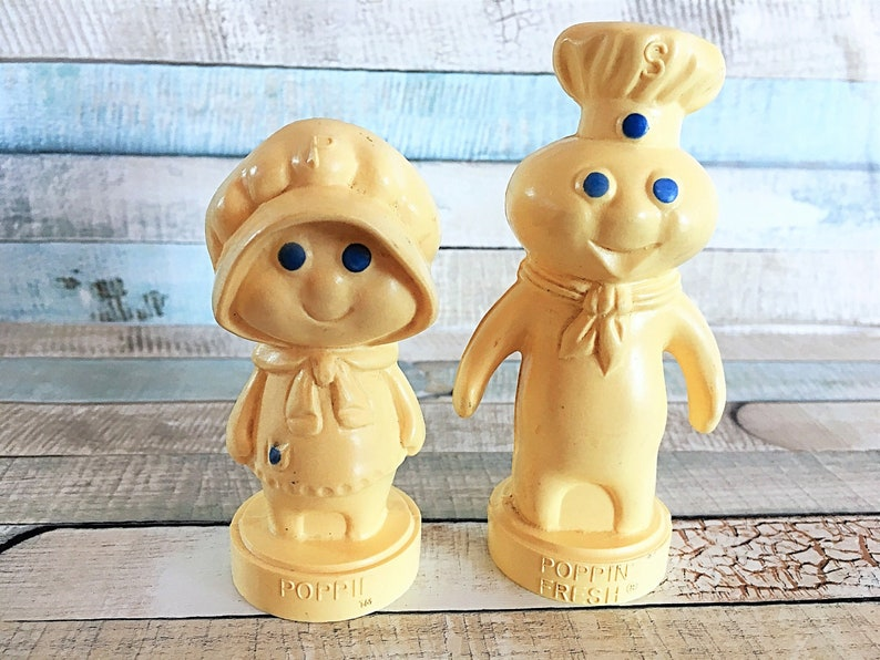 Pillsbury Doughboy Salt Shaker Poppin Fresh Salt Shaker Set image 0