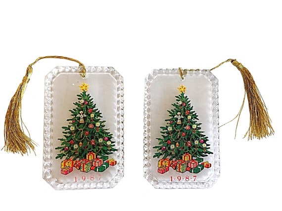 Avon Ornament Vintage Ornaments Christmas Tree Avon