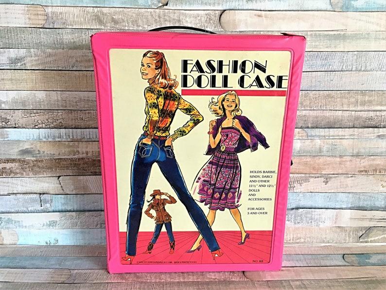Vintage Barbie Case Fashion Doll Case Barie Trunk Vintage image 0