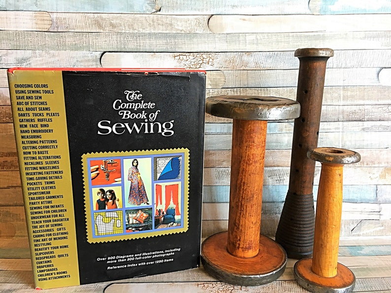 Vintage Sewing Book Old Sewing Pattern Vintage Book How to image 0