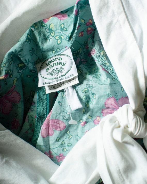 90s Laura Ashley Floral Dress - image 2