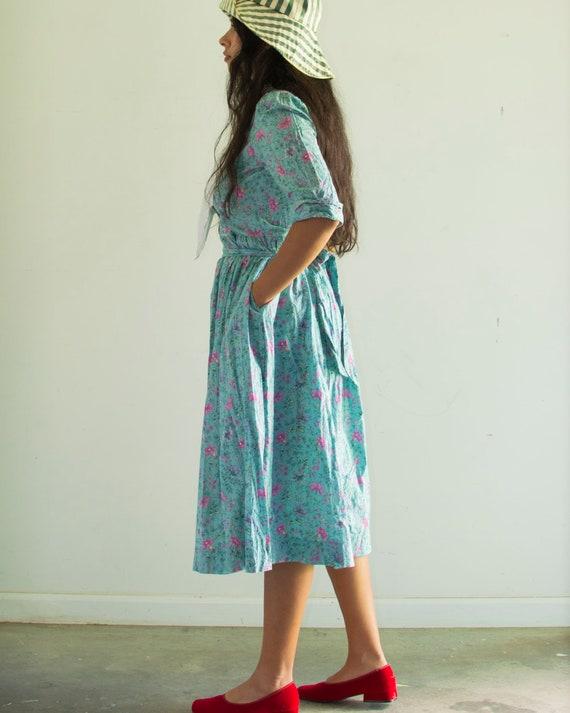 90s Laura Ashley Floral Dress - image 3