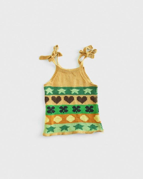 90s Lucky Knit Tank Top