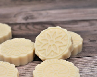 Vanilla Chai Spice Solid LOTION BAR with Cocoa Butter, Illipe Butter, Candelilla wax, Dry Skin Solid Lotion, Vegan