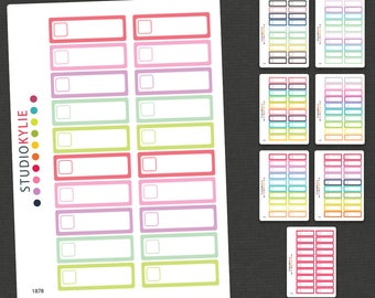 Appointment Planner Stickers  - Removable Matte Vinyl