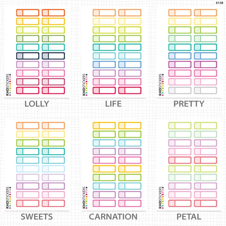 Appointment Stickers Planner Stickers Repositionable Matte Vinyl to suit all planners