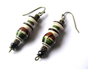 Cute earrings - Simple earrings gift - Ethnic earrings - Everyday earrings - Minimalist earrings - Boho earrings - Jewelry for women gift
