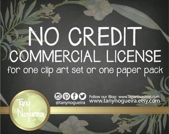 Extended License for Paper Pack or Clip Art Set