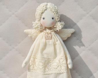 rag doll angel Textilе Tilda doll