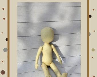 """PDF, Cloth Doll Pattern 13 """" l,Soft Doll Pattern"""