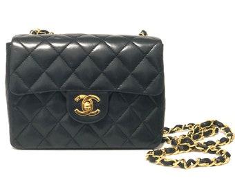 cc8ec6a862 Chanel Classic Mini Square Flap Bag