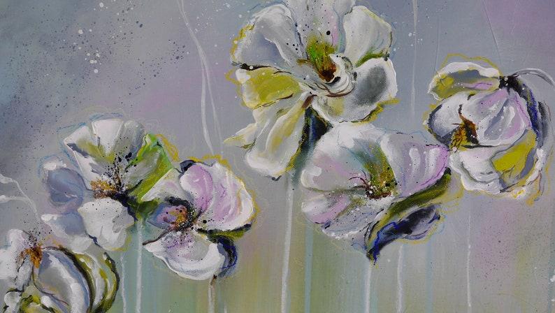 447ff09c09dbca Sale Grote Acryl schilderij weide bloem bloemen weide | Etsy