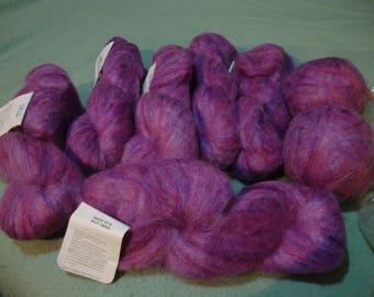 yarn brunswick impressions mohair - maui ombre