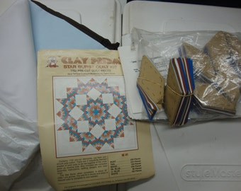 quilt kit star burst