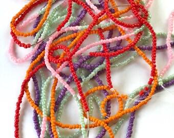 Minimalist waist beads